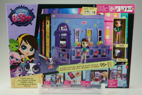 Littlest pet shop Blythina ložnice hrací set TV 1.5.-30.8.2015