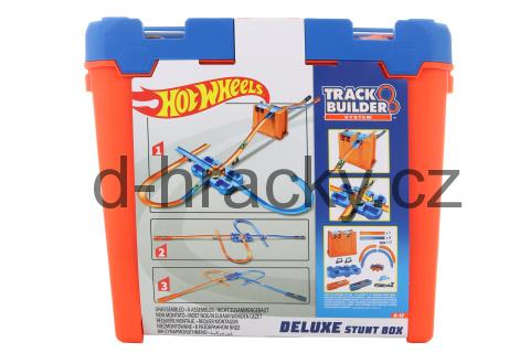 Hot Wheels Track Builder box plný triků GGP93