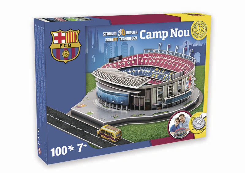Nanostad: SPAIN - Camp Nou (Barcelona)