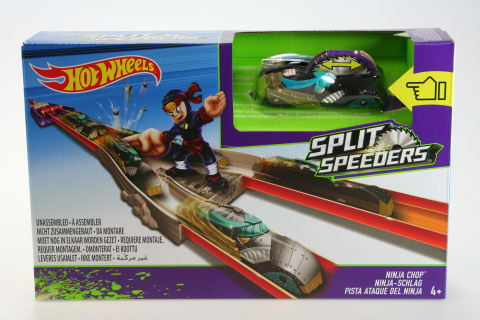 Hot Wheels Split Speeders dráha s Ninjou DJC31