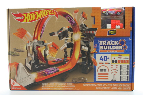 Hot Wheels Track Builder Bourací set DWW96