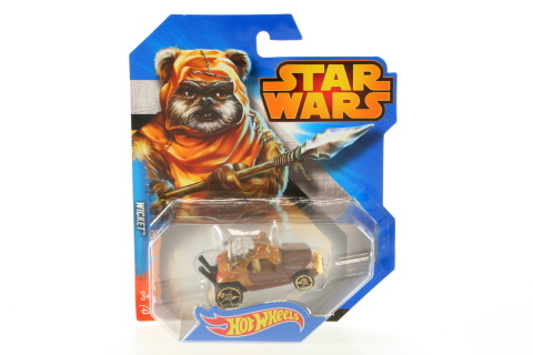 Hot Wheels Star Wars autíčko  CGW35 - Wicket