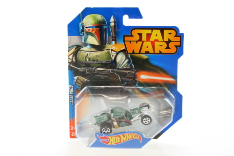Hot Wheels Star Wars autíčko  CGW35 - Boba Fett
