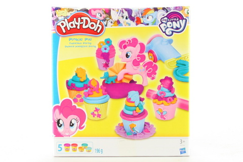 Play Doh My Little Pony Pinkie Pie a dortíčková oslava