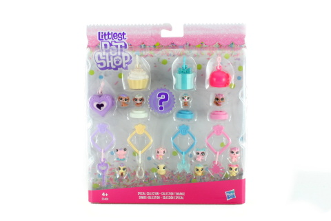 Littlest Pet Shop Frosting Frenzy 13ks mini zvířátek