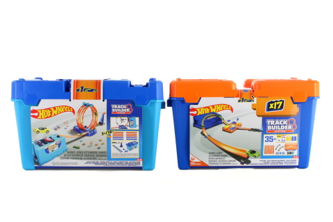 Hot Wheels Track Builder v kufříku FLK89