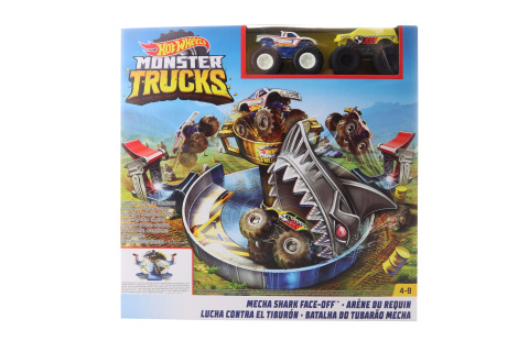 Hot Wheels Monster trucks žraločí útok FYK14