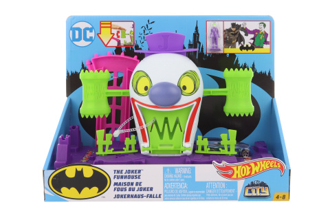 Hot Wheels  DC Padouch z Gotham city GBW50